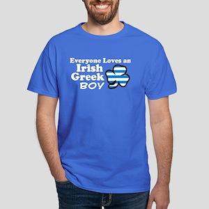 Irish Greek Boy Dark T-Shirt