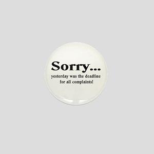 complaints Mini Button