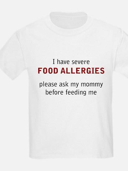 Cute Food allergy T-Shirt