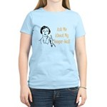 Ask Me About My Booger-Wall Women's Light T-Shirt