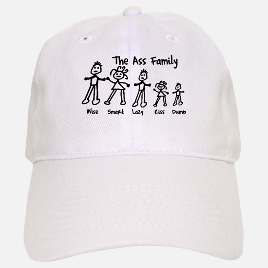 Ass Family Baseball Baseball Cap