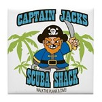 Scuba Shack Tile Coaster