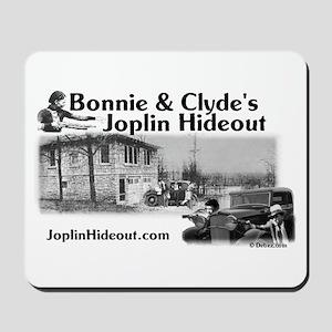 Bonnie and Clyde's Joplin Hid Mousepad