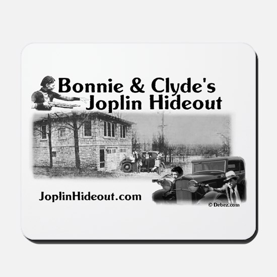 Bonnie and Clyde's Joplin Hid Mousepad