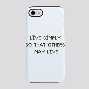 Live Simply iPhone 8/7 Tough Case
