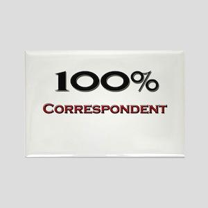 100 Percent Correspondent Rectangle Magnet