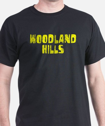 Woodland Hills Faded (Gold) T-Shirt