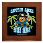 Scuba Shack Framed Tile