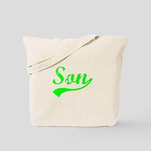 Vintage Son (Green) Tote Bag