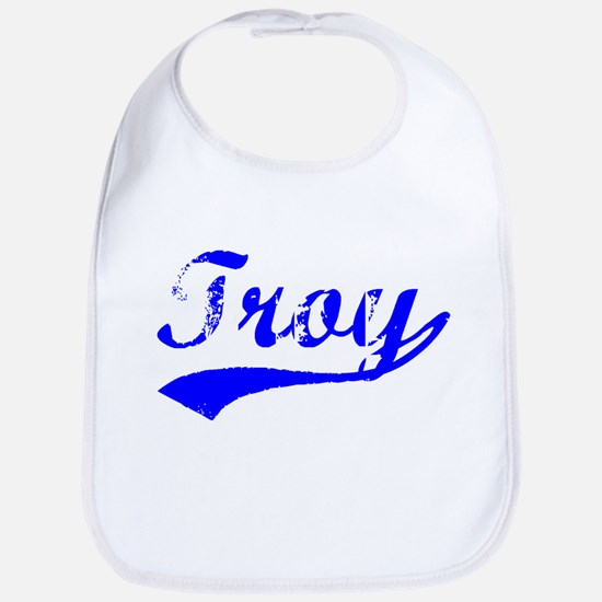 Vintage Troy (Blue) Bib