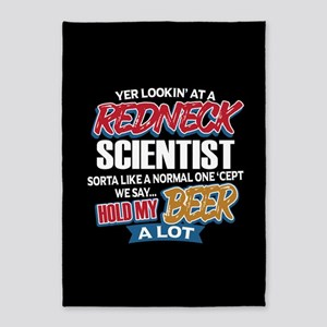 Redneck Scientist 5'x7'Area Rug