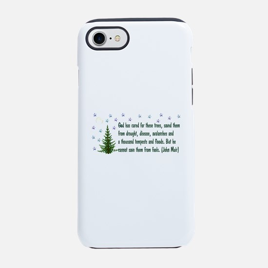 Save The Trees iPhone 8/7 Tough Case
