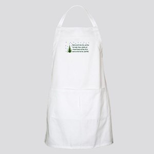 Save The Trees Light Apron