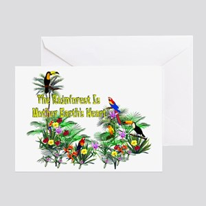 Mother Earth's Heart Greeting Card