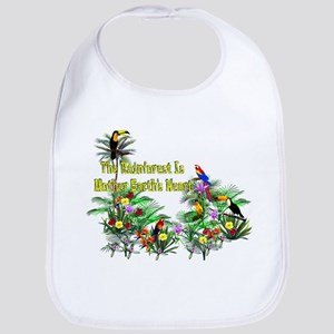 Mother Earth's Heart Cotton Baby Bib
