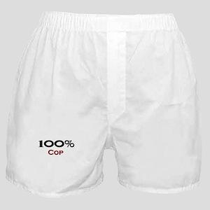 100 Percent Cop Boxer Shorts