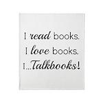 I Talkbooks Throw Blanket