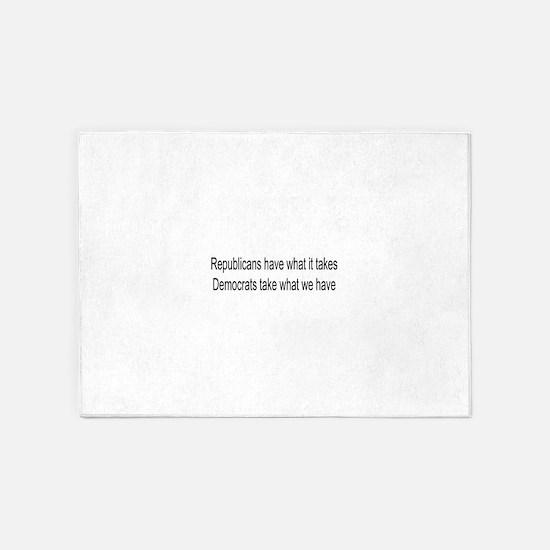 Republican gift 5'x7'Area Rug