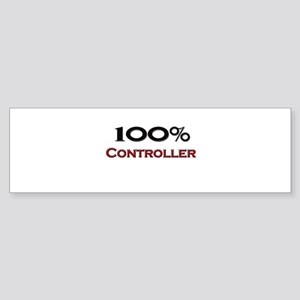 100 Percent Controller Bumper Sticker