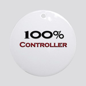 100 Percent Controller Ornament (Round)