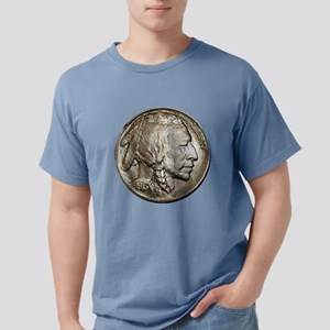 Classic Nickel Indian w/ Buffalo Kids Lt T-Shirt