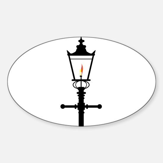Victorian Isolated Gaslight Decal