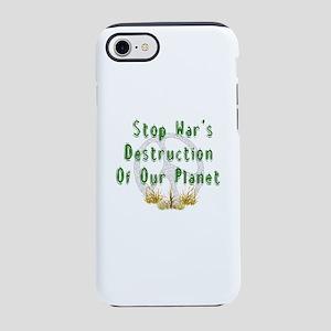 Stop War's Destruction iPhone 8/7 Tough Case
