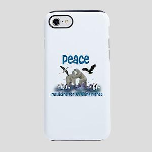 Peace Heals Planet iPhone 8/7 Tough Case