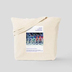 Hope Inspiration Teamwork Tote Bag