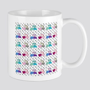 Colorful Sewing Machines Mugs