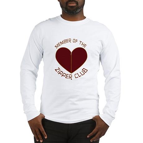 Zipper Club Long Sleeve T-Shirt