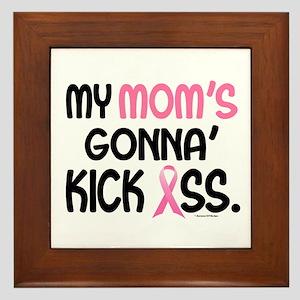 Gonna' Kick Ass 1 (Mom) Framed Tile