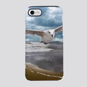 Gull Over Shoreline iPhone 8/7 Tough Case
