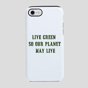 Live Green iPhone 8/7 Tough Case
