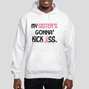 Gonna' Kick Ass 1 (Sister) Hooded Sweatshirt