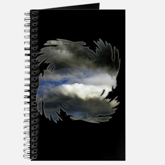 Storm Clouds Black Journal