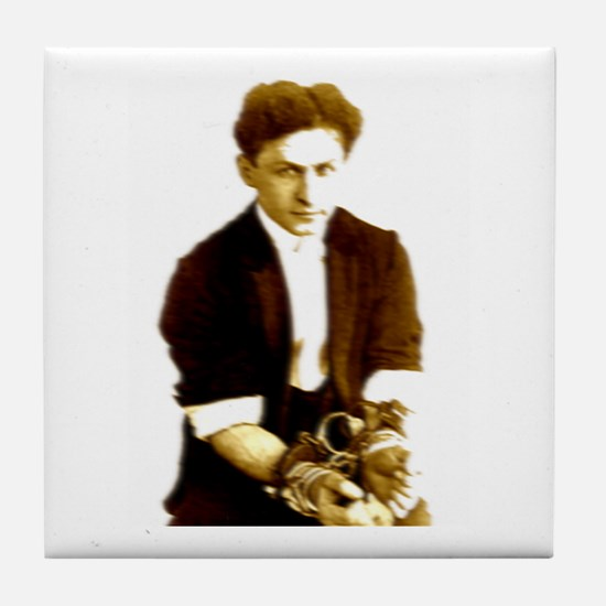 Houdini's Ghost Tile Coaster