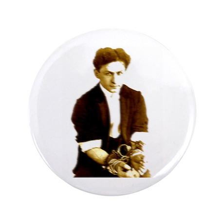 "Houdini's Ghost 3.5"" Button"