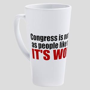 funny political 17 oz Latte Mug