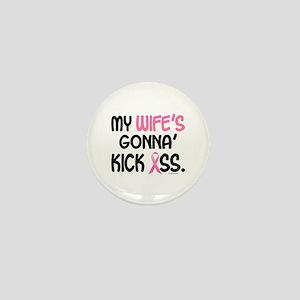 Gonna' Kick Ass 1 (Wife) Mini Button