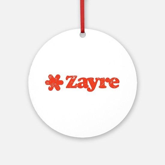 Zayre Discount Bin Ornament (Round)