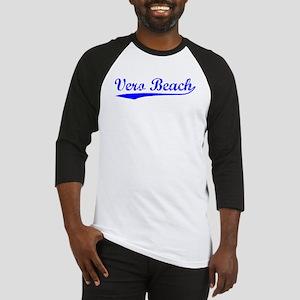 Vintage Vero Beach (Blue) Baseball Jersey
