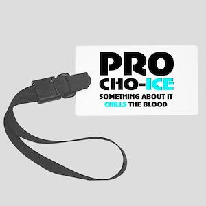 Anti-abortion Large Luggage Tag