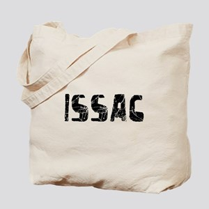 Issac Faded (Black) Tote Bag