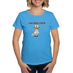 I Love Being A Nursse Women's Dark T-Shirt