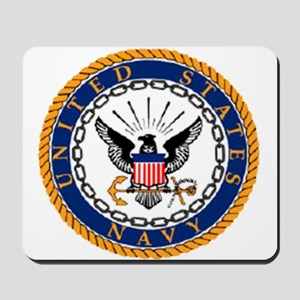 Navy Emblem Mousepad