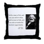 Karl Marx 4 Throw Pillow