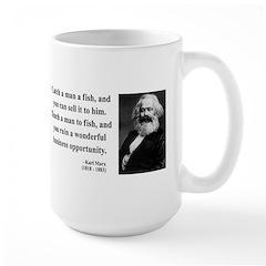 Karl Marx 4 Large Mug