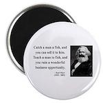 Karl Marx 4 Magnet