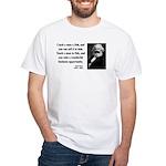 Karl Marx 4 White T-Shirt